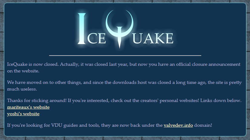 icequake on Neocities