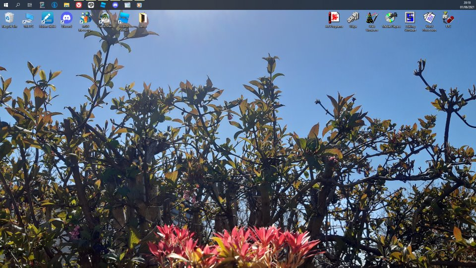 Caby's main desktop