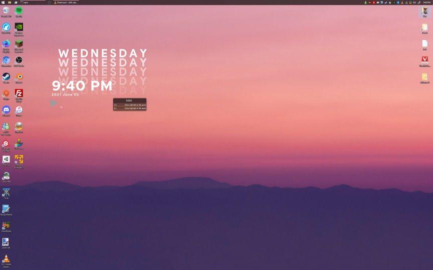 mon's desktop